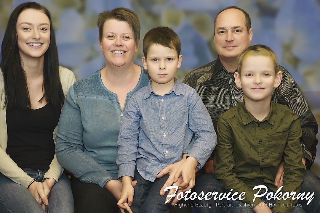 Familienfoto von Familie Fuchs