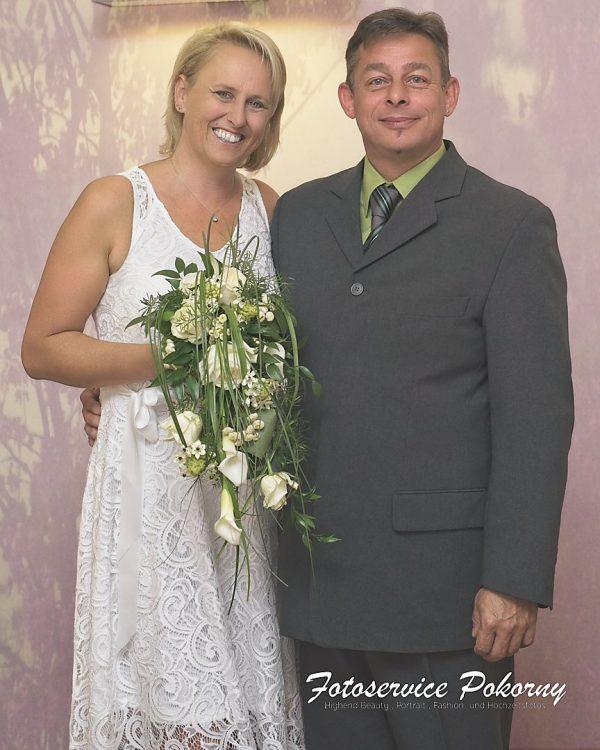 Hochzeitspaar Familie Haas